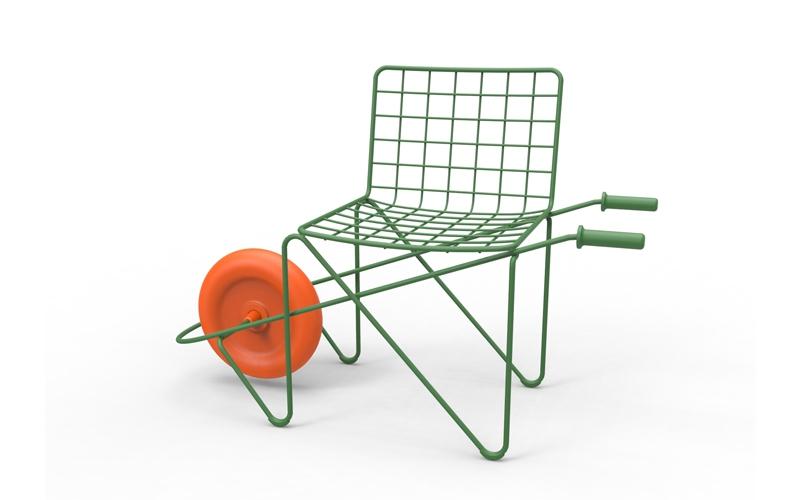ガーデンチェア マジス 一輪車 デザイナー トロッター